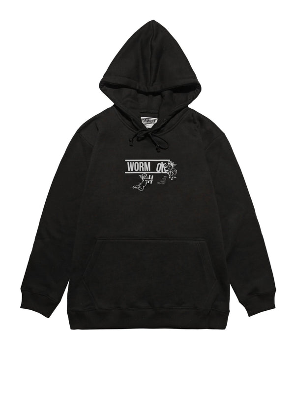 Wormhole The Deposition Hoodie Black