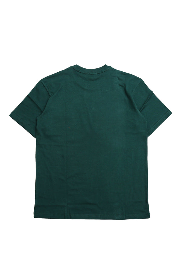 W.ESSENTIELS Boxy Cut Pocket Tee Forest green