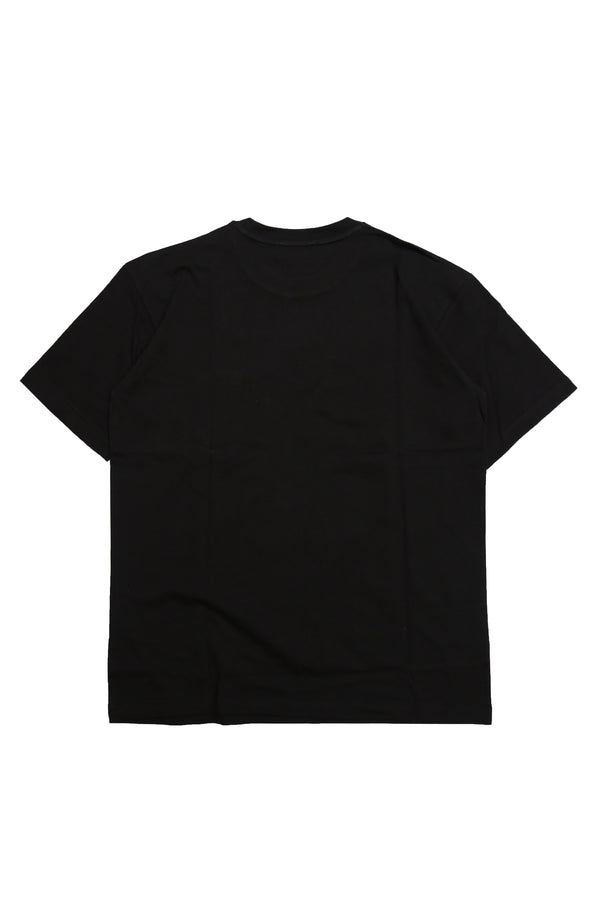 W.ESSENTIELS Boxy Cut Pocket Tee Noir Black