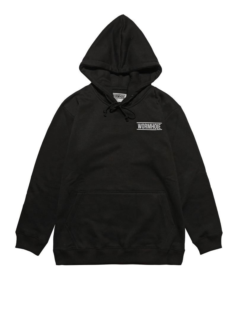 Wormhole Acetamin 500mg Hoodie Black