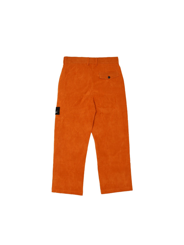 Courbet Painter Straight Suede Pants Oranje