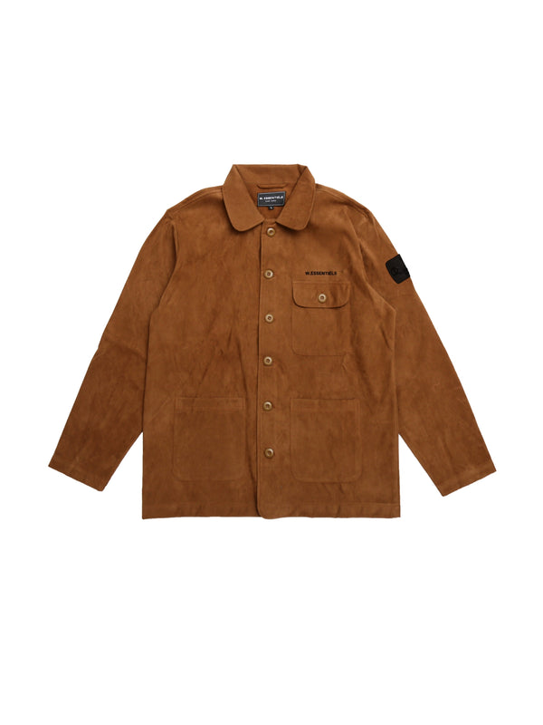Courbet Painter Suede Jacket Hamilton