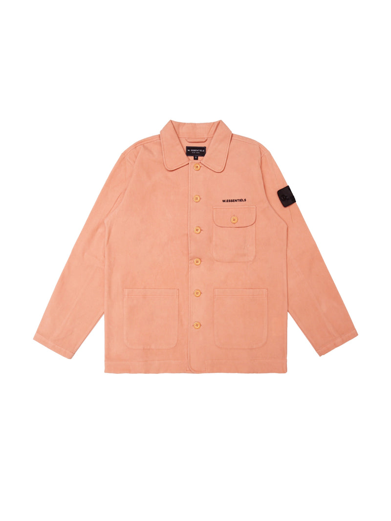 Courbet Painter Suede Jacket Peach