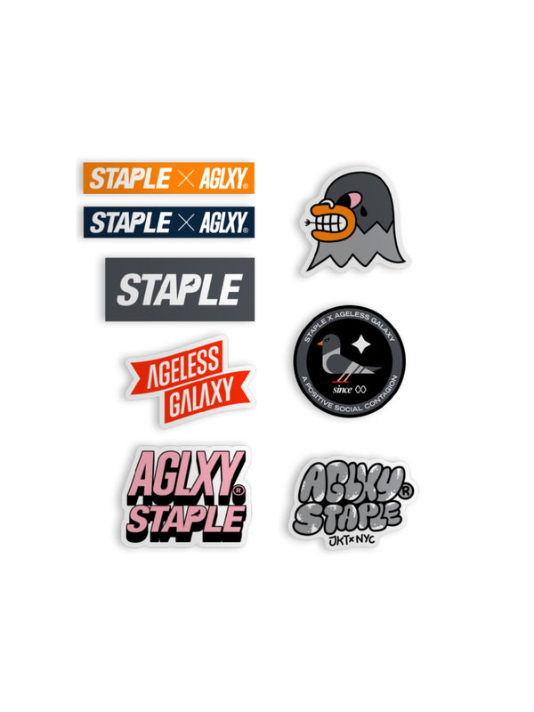 AGLXY x Staple Sticker Pack