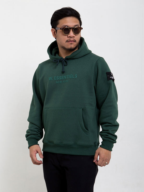 Ecume Monopack Oversize Hoodie Forest Green