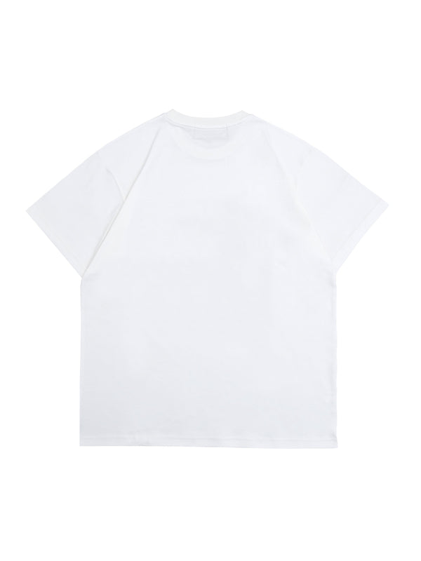 Wormhole Pepper Puffs Tee White