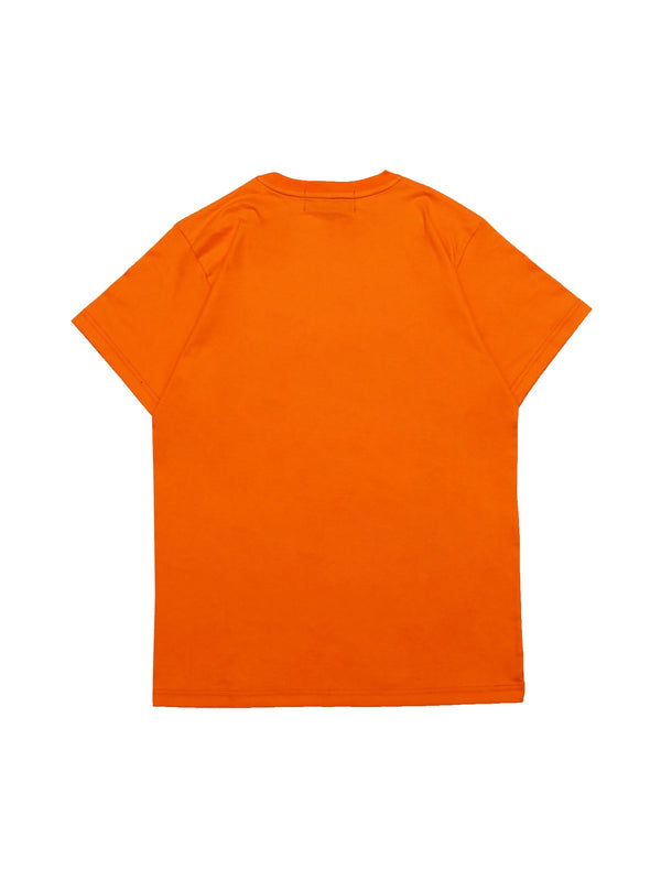 Wormhole Pepper Puffs Tee Orange