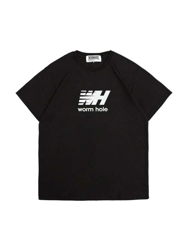 Wormhole Forty Two Tee Black White