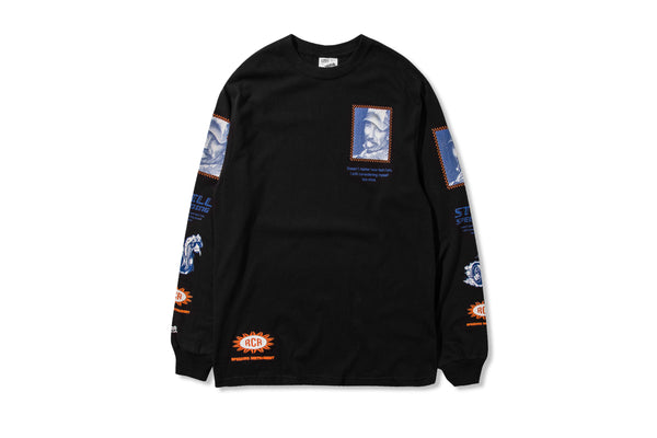 Racecar Ain't Slowing Down LS Black Tee