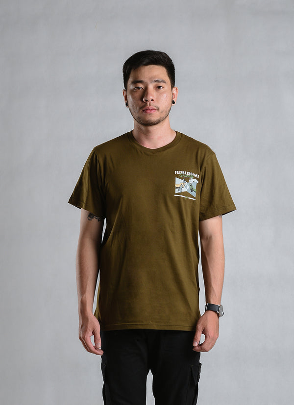 W.ESSENTIELS x Jackhammer Granata T-shirt S/S Military Green