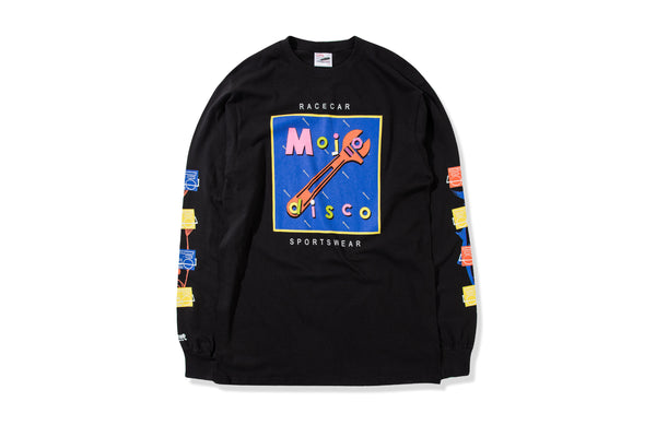 Mojo Disco T-shirt Black L/S