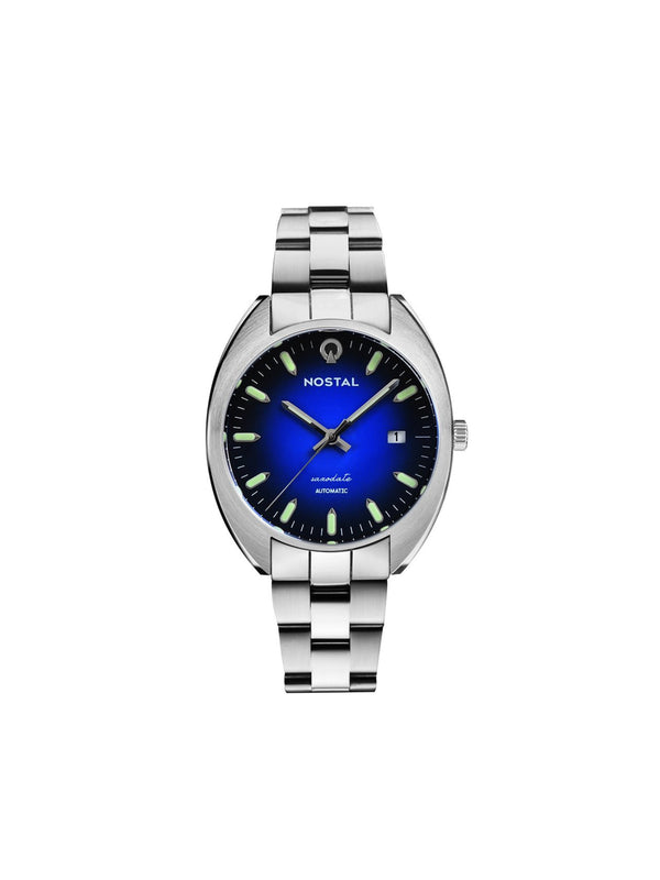 Nostal Saxodate Blue Dial (Limited Edt) 42