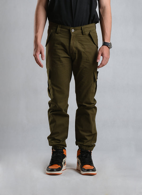 W.ESSENTIELS x Jackhammer Type - 073 Cargo Pants Military Green