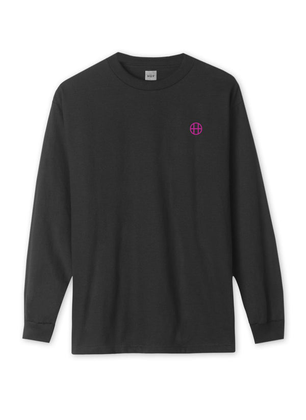 HUF EROTICA LONG SLEEVE T-SHIRT BLACK