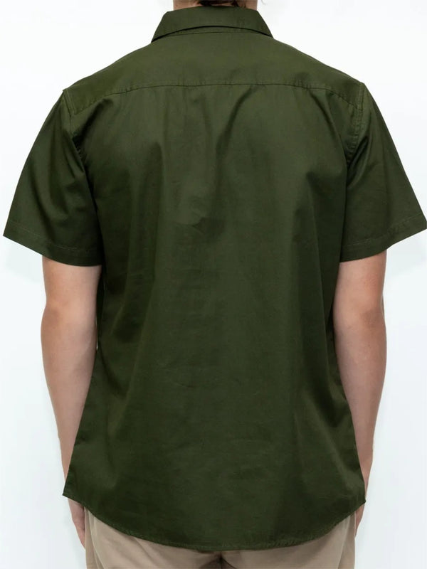 Dickies Ashville Regular Fit S/S Shirt Army Green