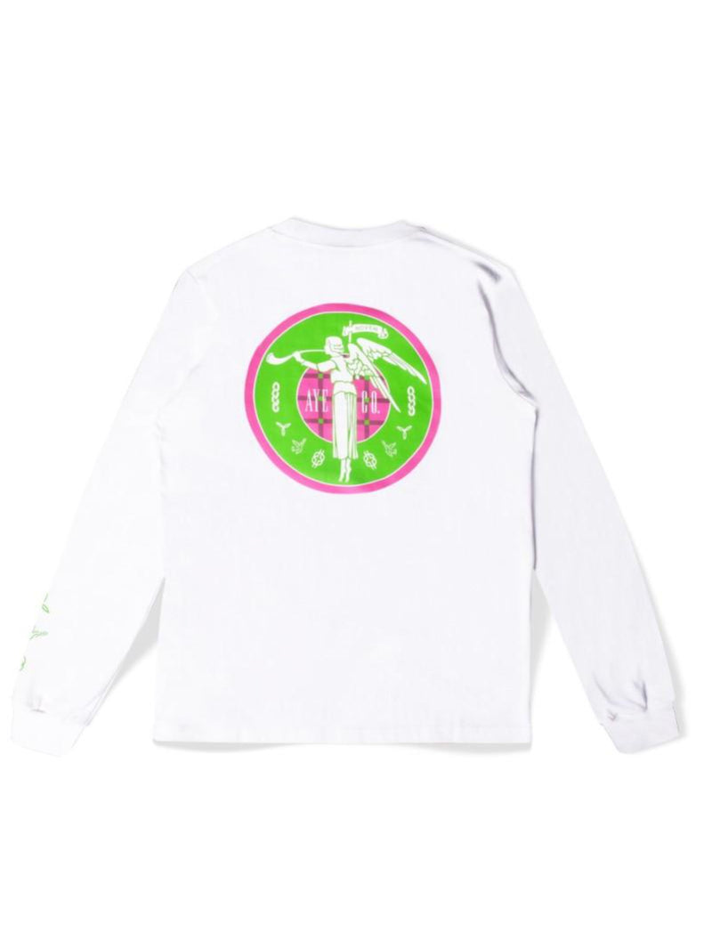 AYE & Co Purus White Long Sleeve T-shirt
