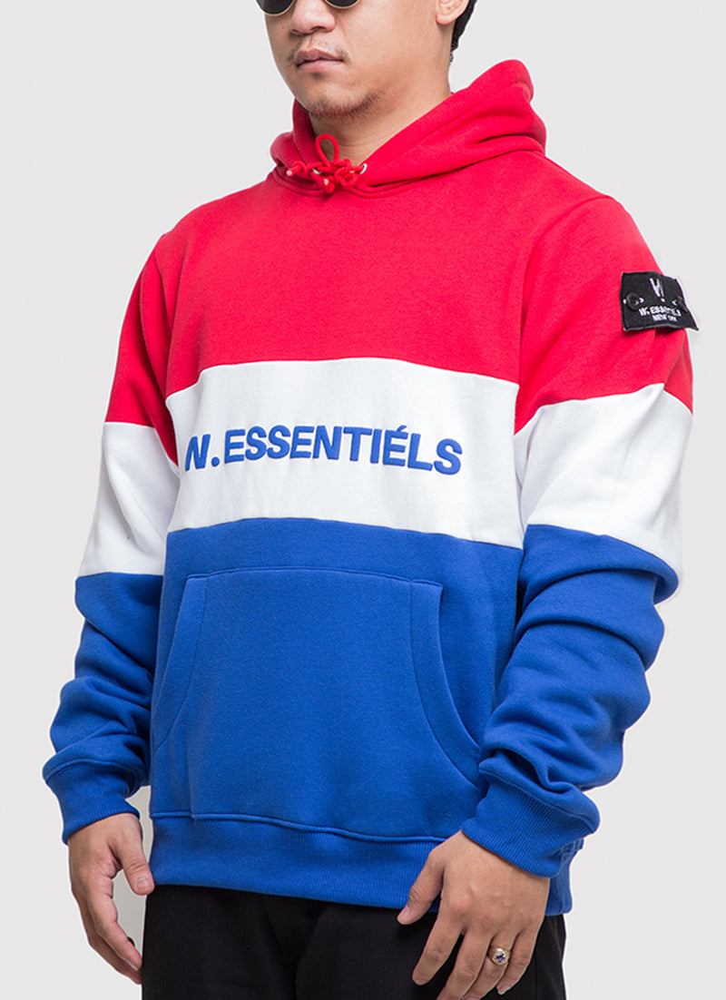 Tricolore Oversized Hoodie Les France