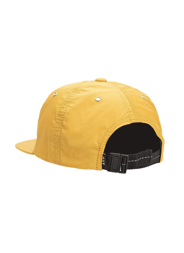 HUF Offset 6 Panel Hat Golden Spice