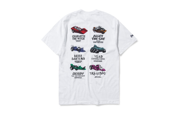 Racecar Champion Kit White Tee