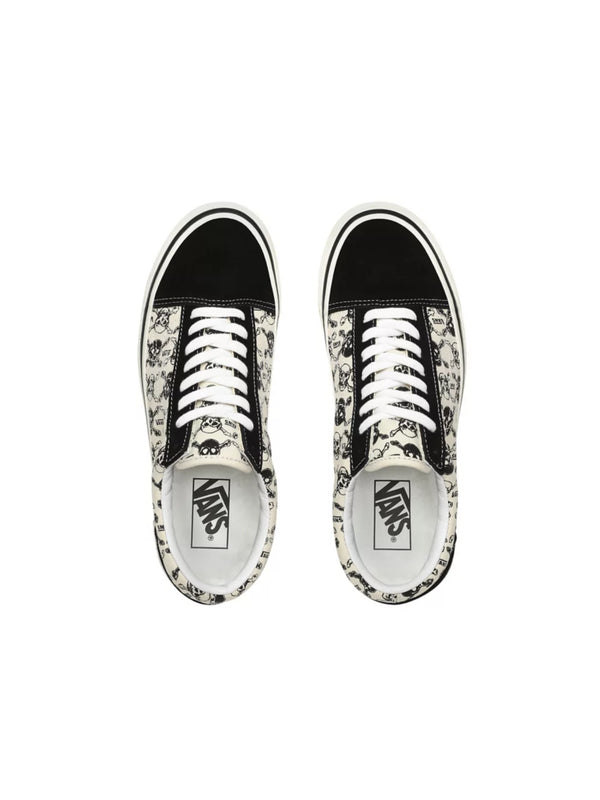 Vans Anaheim Factory Old Skool 36 DX  OG SKULL/OG BLACK