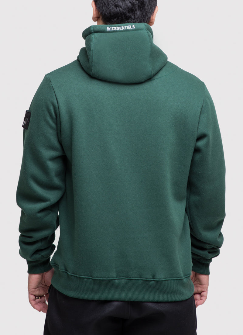 Ecume Oversize Hoodie Forest Green
