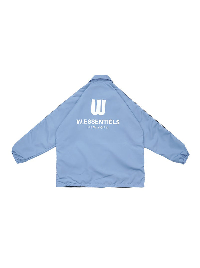 W.ESSENTIÉLS x NEVER TOO OLD Jaket Squidward Stadium Windbreaker