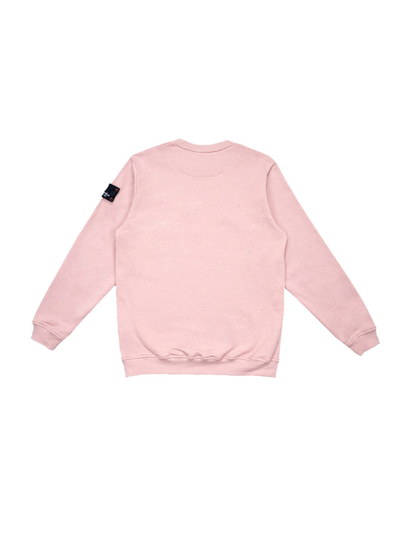 W.ESSENTIÉLS x NEVER TOO OLD Sweater Patrick Type Due Crewneck