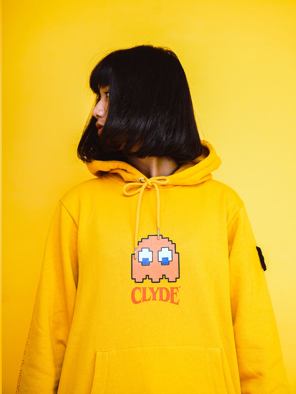 "W.ESSENTIELS x Faith x PAC-MAN™ ""Clyde"" Hoodie Mustard"