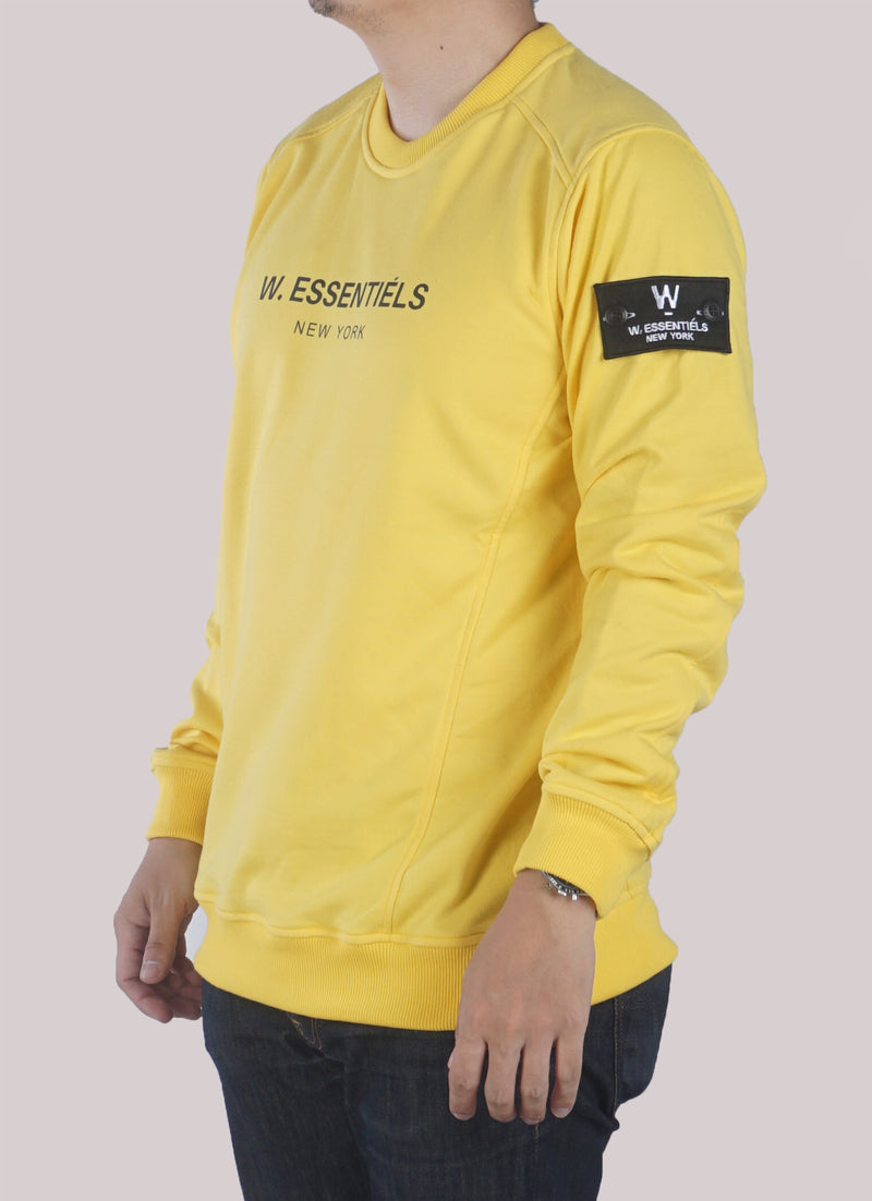AJACCIO CREWNECK YELLOW