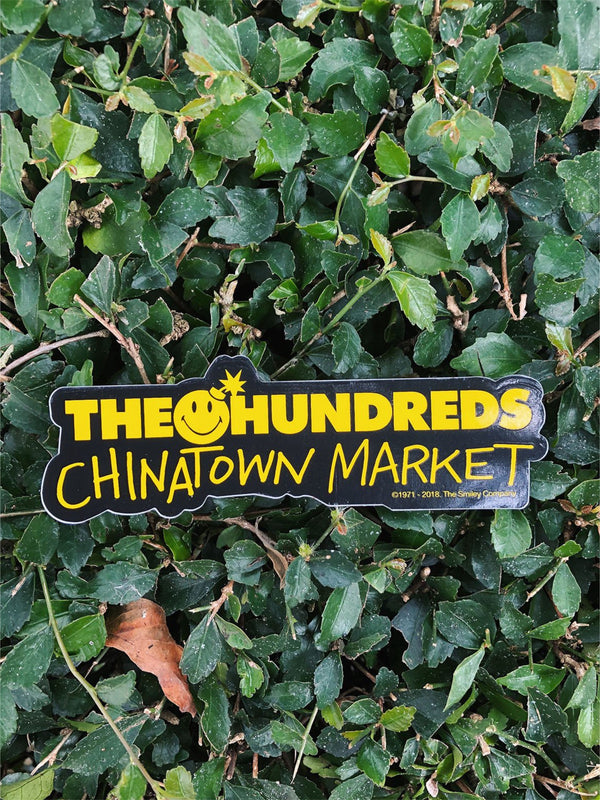 The Hundreds x Chinatown Bar Smiley Sticker
