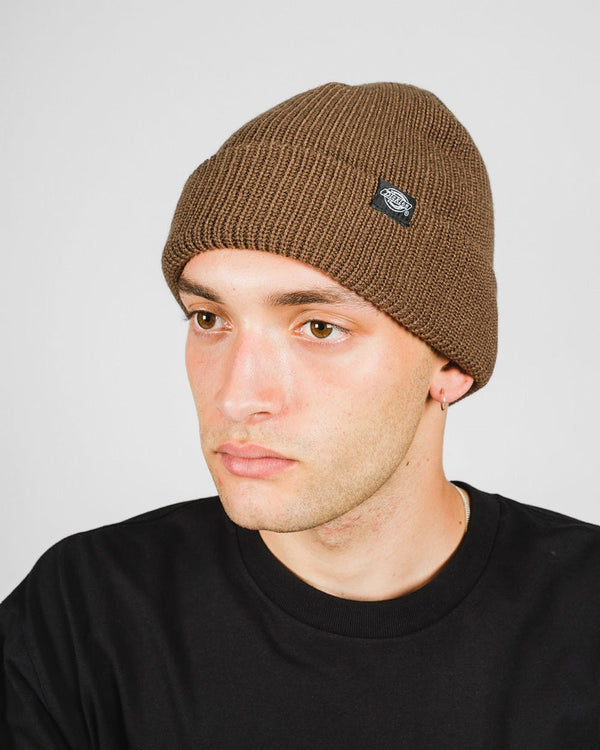 Dickies Seattle Fisherman Beanie Brown