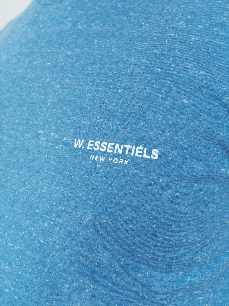 Chest Logo Shattered Blue
