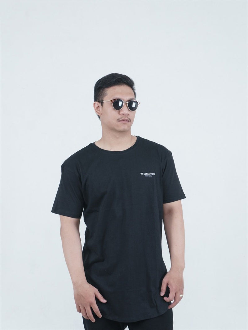 Chest Logo Basic Black
