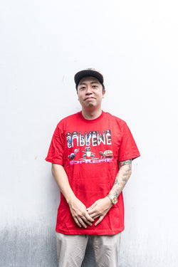 Supreme Animal Tee Red