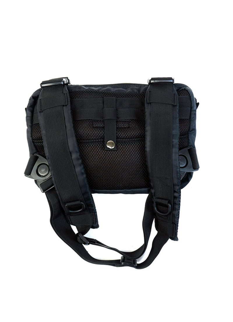 W.ESSENTIELS x ROVER Bags J-xx-02 Chest Rig Military Black