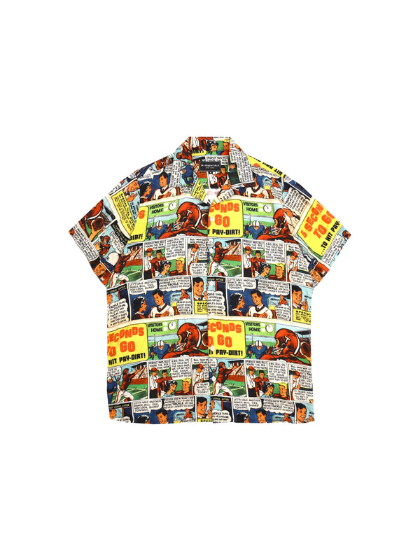 W.ESSENTIELS De Livre Full Print Shirt Multicolor