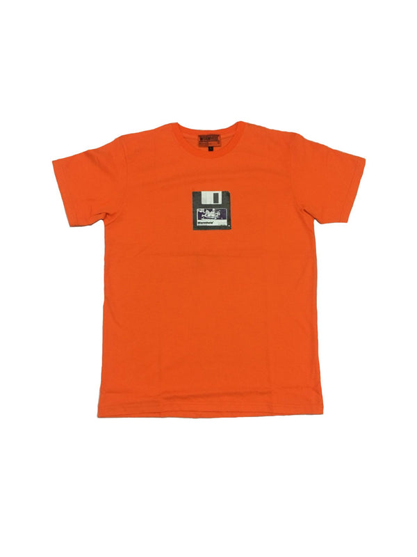 Wormhole FDD Orange Tee