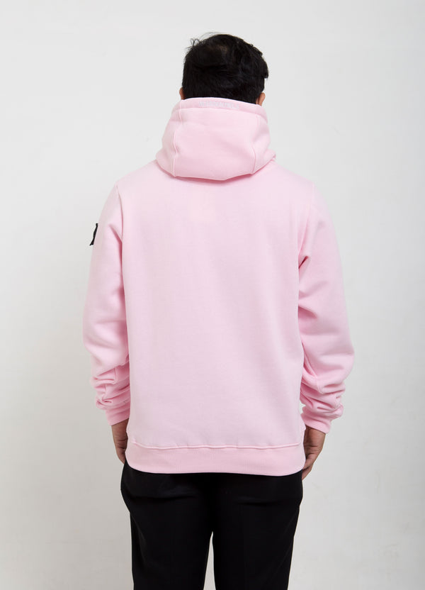 Ecume Oversize Hoodie Soft Pink