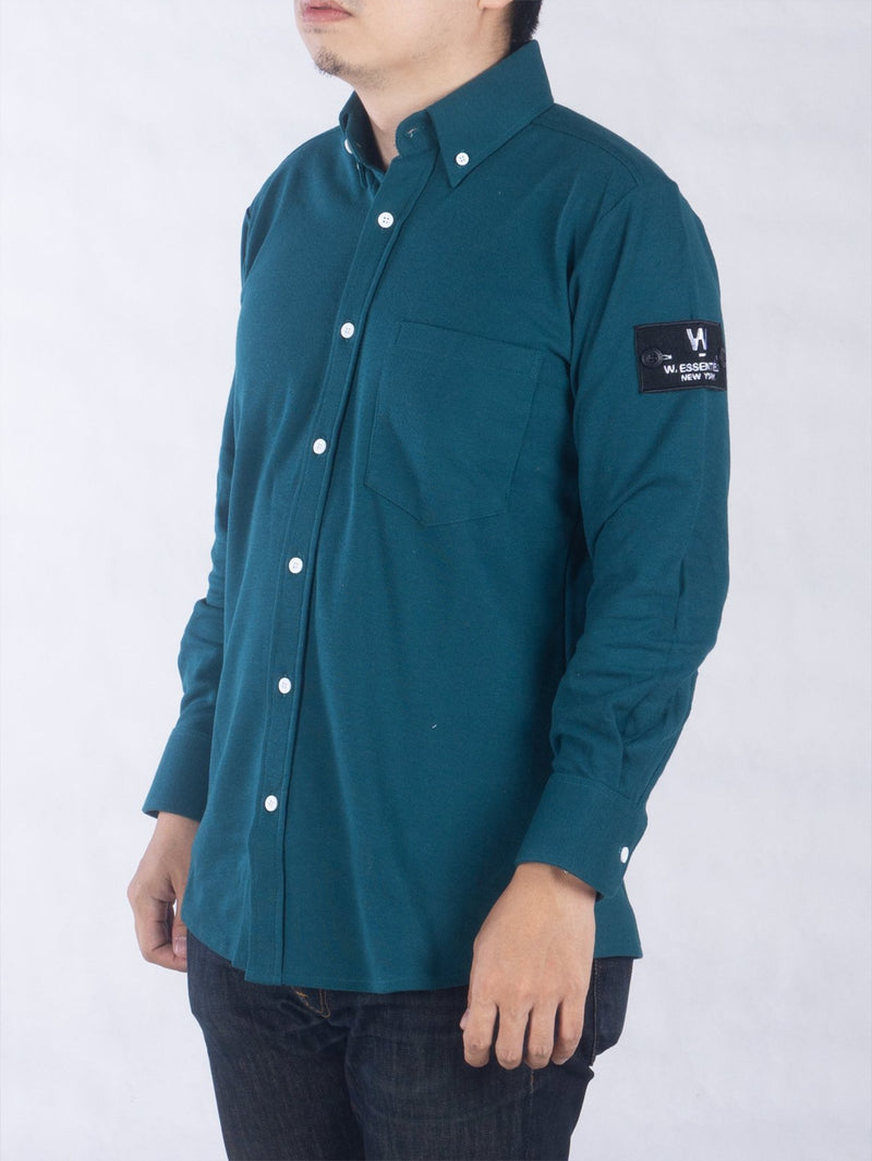 Le Courtin Shirt Moss Green