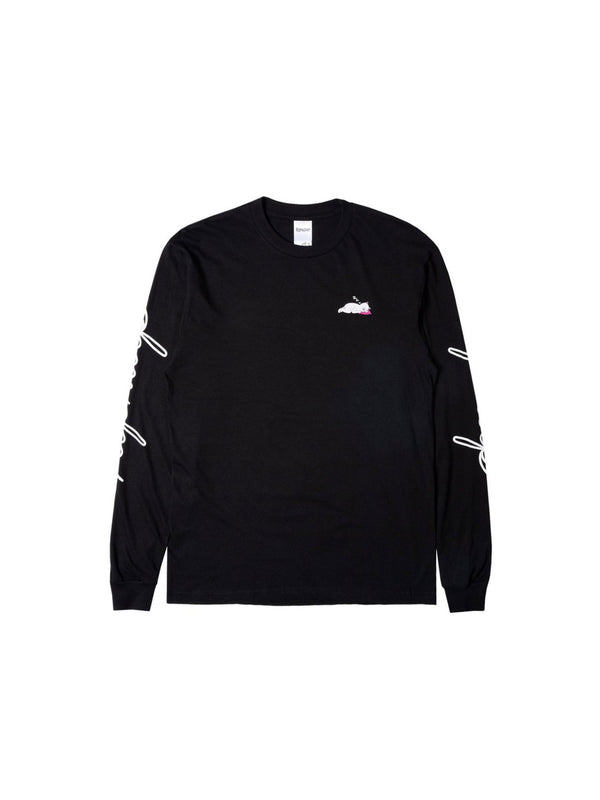 Ladies Man L/S Black