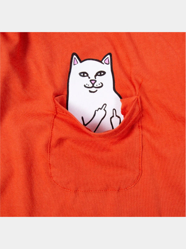 Lord Nermal Pocket L/S Texas Orange
