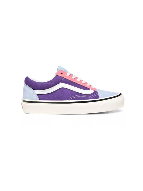 Vans Anaheim Factory Old Skool 36 DX Shoes Og light blue/Og purple/Og pink