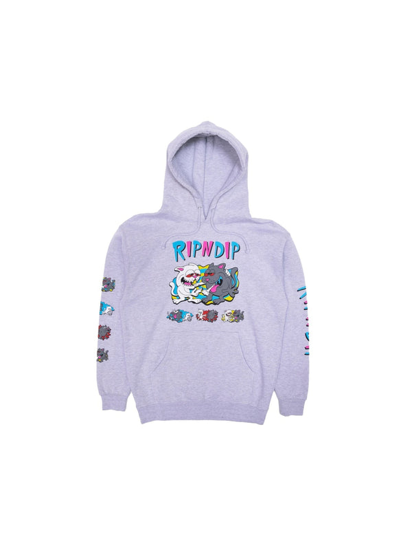 Hash Bros Hoodie Heather Grey