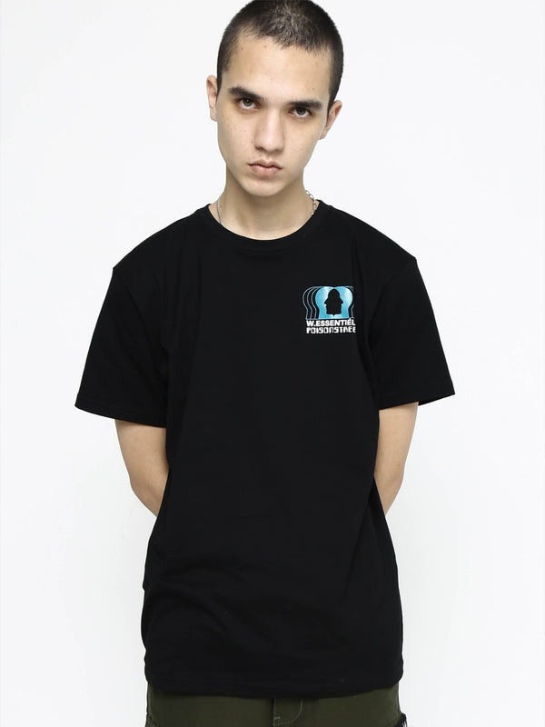 Poison Street x W.ESSENTIELS Graphic Tee Noir black