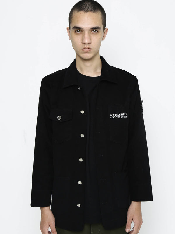 Poison Street x W.ESSENTIELS Chore Jacket Black