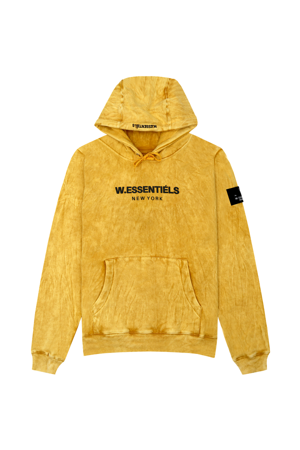 Ecume Acid Wash Oversize Hoodie 330gsm French Blonde