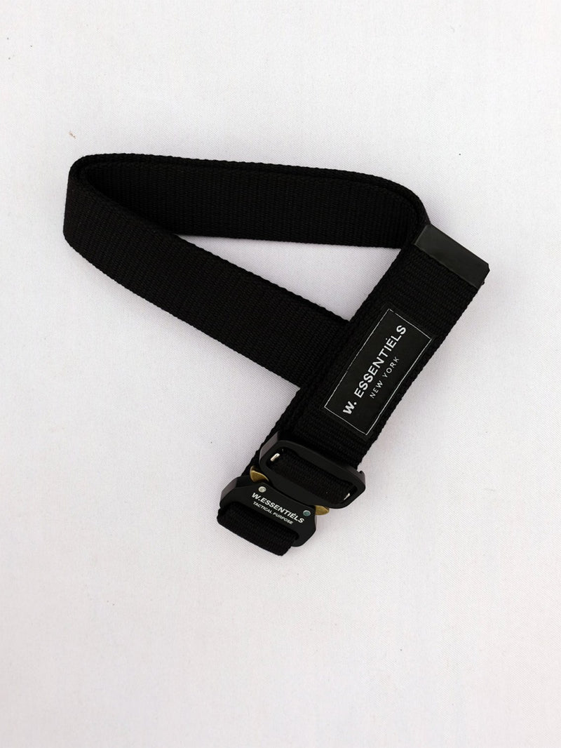 W.ESSENTIELS LYS Exupery Aviation Belt Noir Black