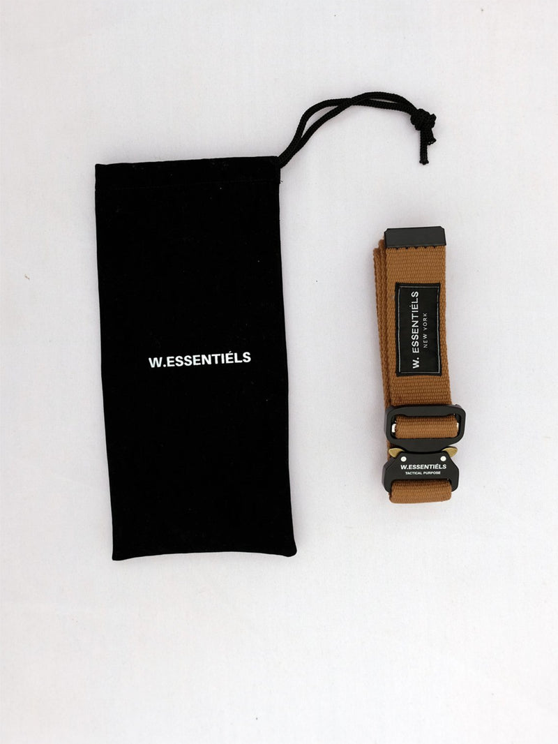 W.ESSENTIELS LYS Exupery Aviation Belt British Khaki