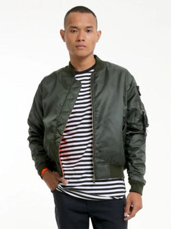Charaix Bomber Jacket Forest Green