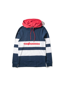 Ridge Hooded L/S Shirt Navy